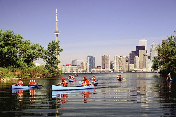 The Toronto Islands provide a great, refreshing escape