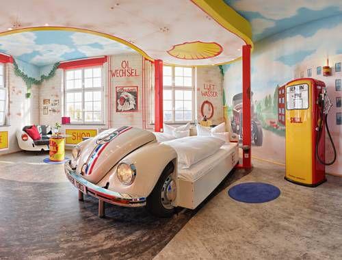 V8 Hotel, Meilenwerk, Germany.