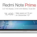 مواصفات جوال Xiaomi Redmi Note Prime