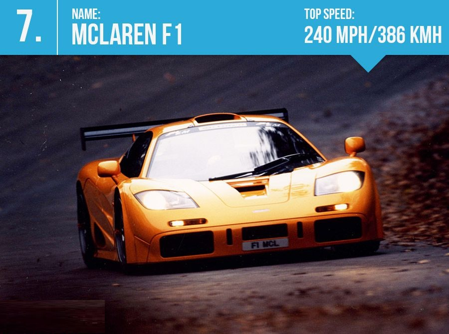 7 mclaren f1 top speed 240 mph 386 kmh. Black Bedroom Furniture Sets. Home Design Ideas