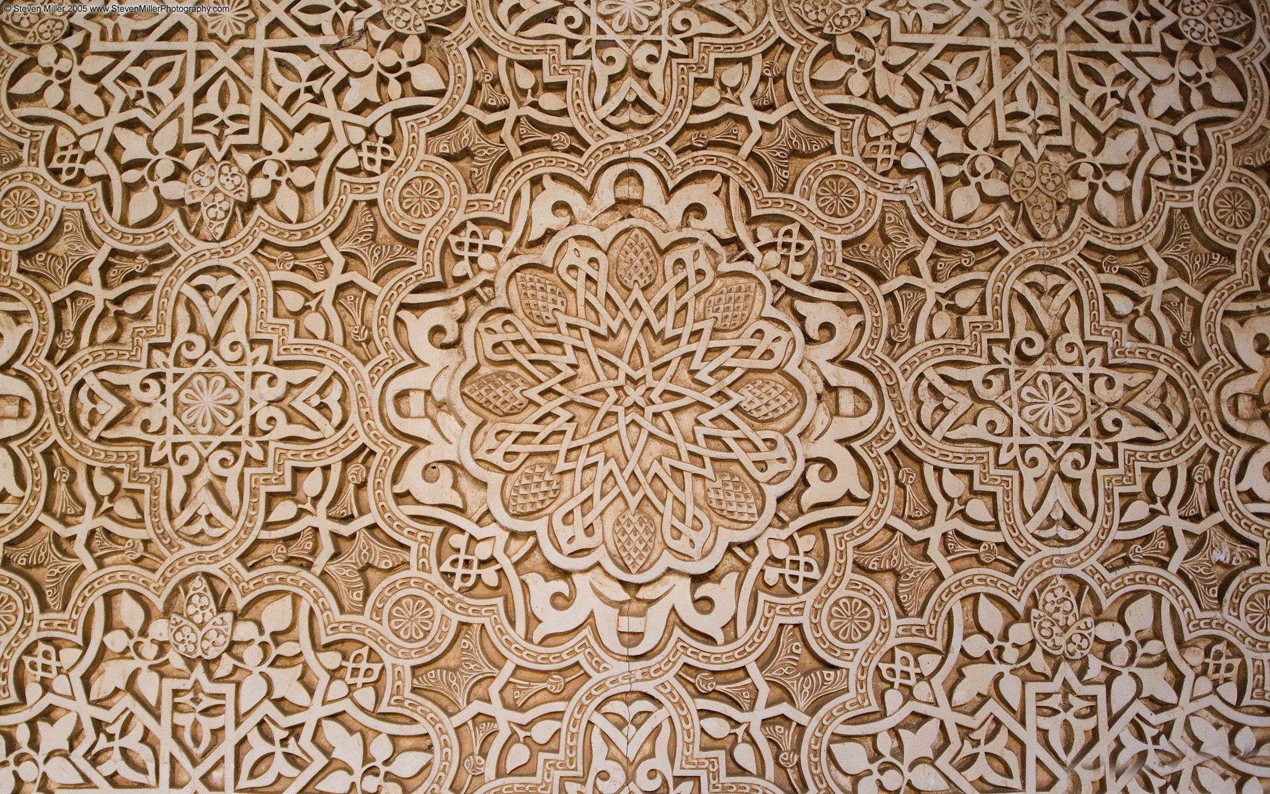 for Arabesque style decoration