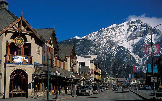 Banff is a town