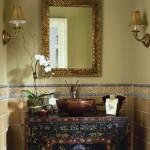 ديكورات حمام الضيوف غاية في الأناقة
