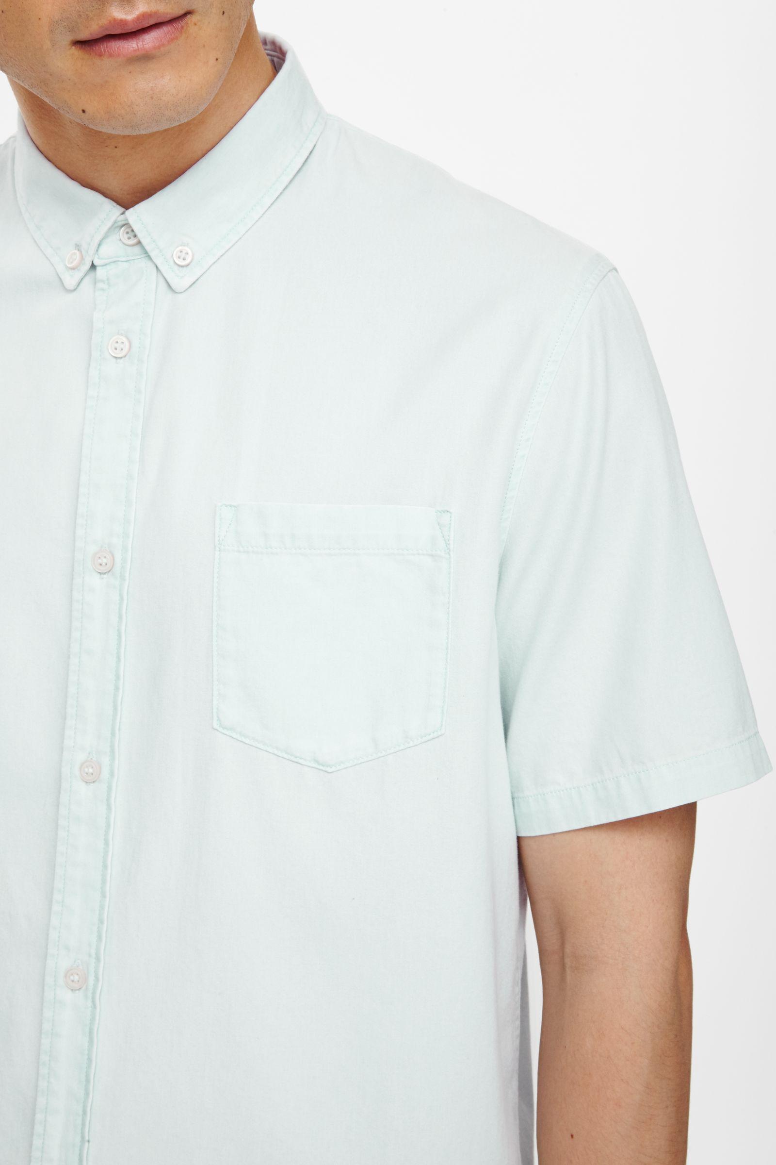 افضل ماركة عالمية للقمصان الرجالي Cos-Short-Sleeved-De