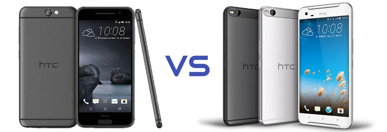 مقارنة بين HTC One X9 و HTC One A9