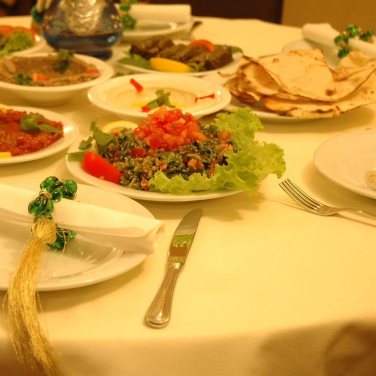 - La table libanaise la fourchette ...