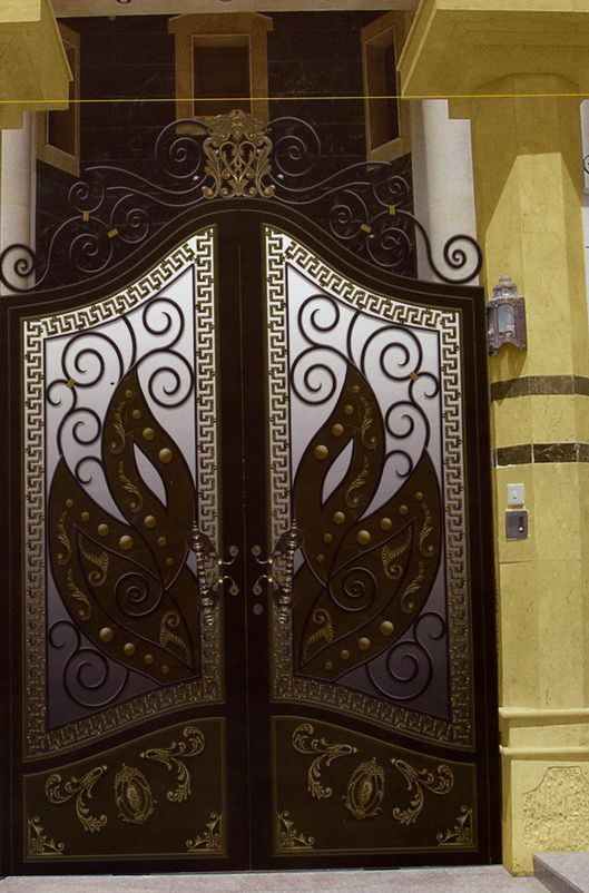 أبواب الحديد والعمائر