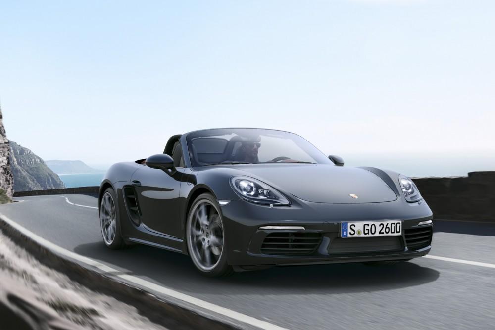السيارة 2017 Porsche-718-Boxster-