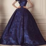 احدث صيحات الموضة 2016 فساتين زفاف باللون الأزرق