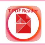 تطبيق T PDF Reader - قارئ ومحول ملفات PDF الى ملفات اوفيس