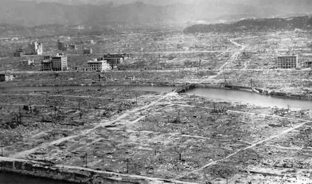 the blast in Hiroshima