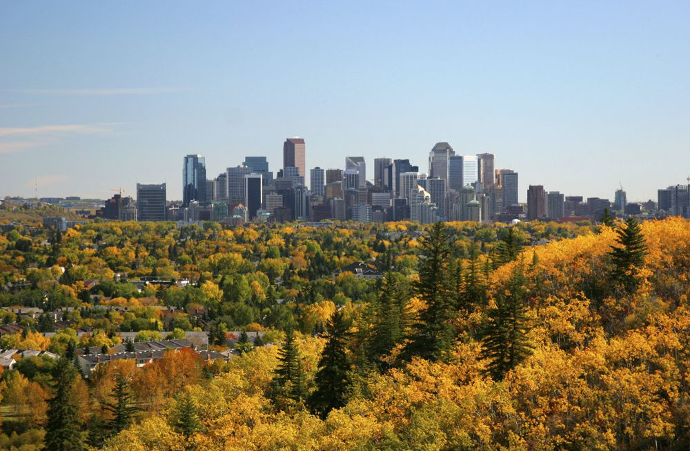 The population of the City of Calgary