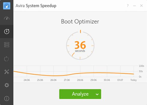 ����� ������ Avira System Speedup ������ ��������� ������ ���� ��������