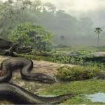 ثعبان تيتانبوا هو من أكبر الثعابين حجماً