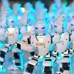 غرائب الفيديو : 500 روبوت راقص احتفالًا بالسنة الصينية الجديدة