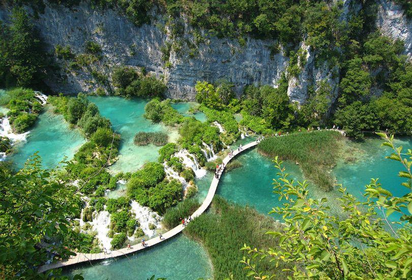 حديقة بليتفيتش الوطنية في كرواتيا بالصور Amazing-photos-of-Plitvice-Lakes