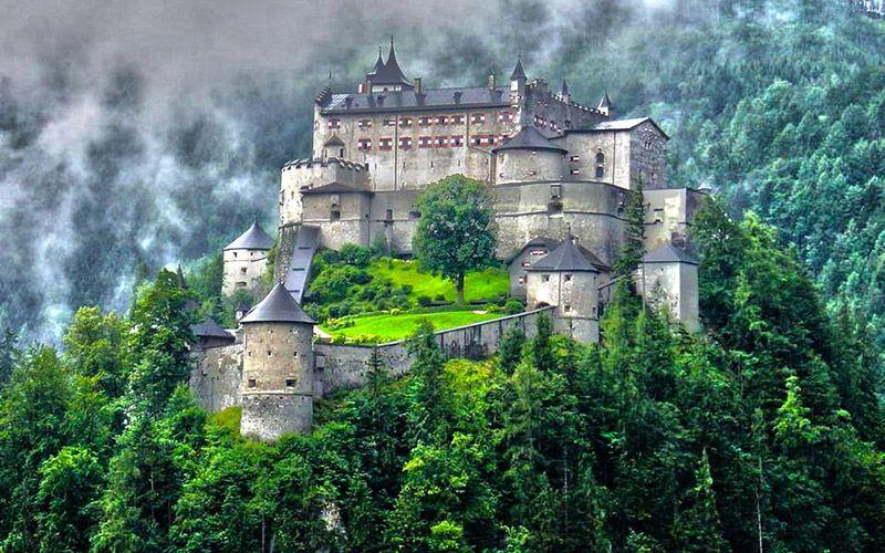 תוצאת תמונה עבור قصر Hohenwerfen، النمسا: