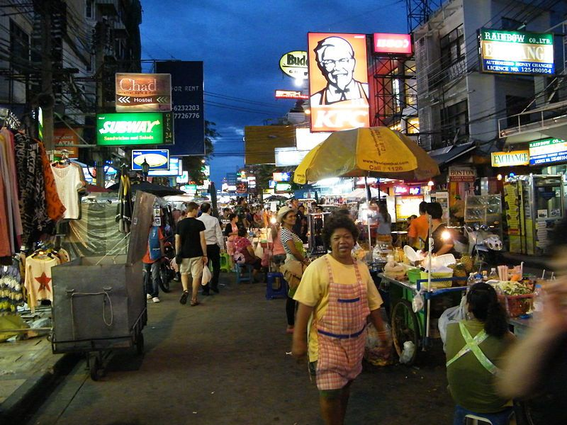 Khaosan shops sell handcrafts | المرسال