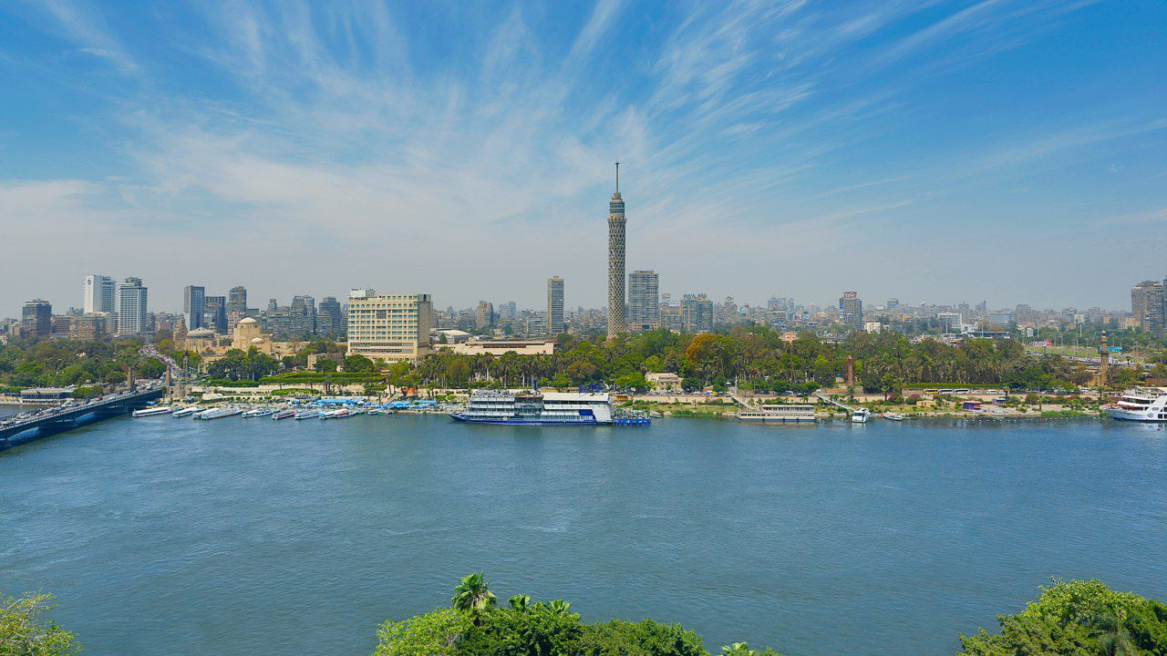 Marvelous views for the river Nile.