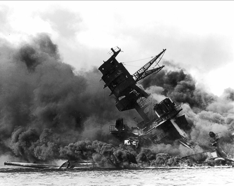 Photo of The USS Arizona