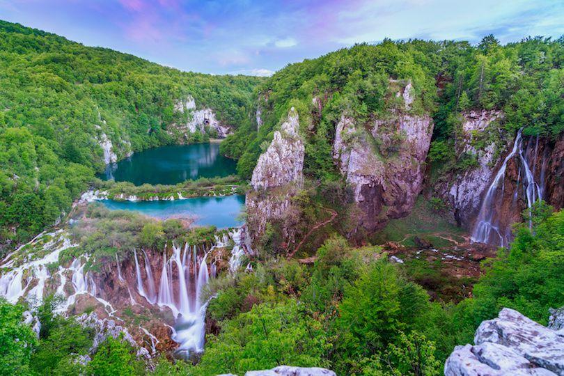 حديقة بليتفيتش الوطنية في كرواتيا بالصور Photos-of-Plitvice-Lakes