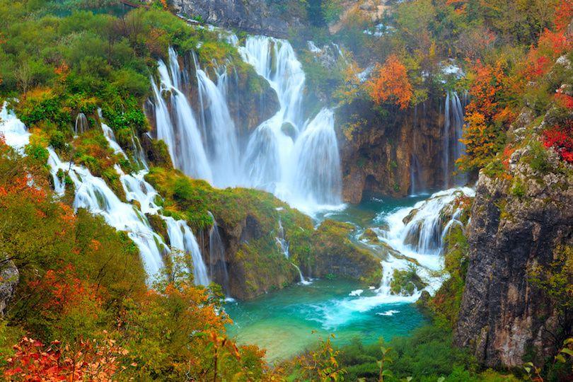 حديقة بليتفيتش الوطنية في كرواتيا بالصور Plitvice-Lakes