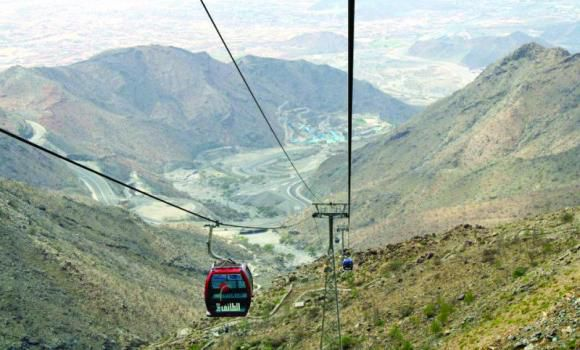 The Hada cablecar