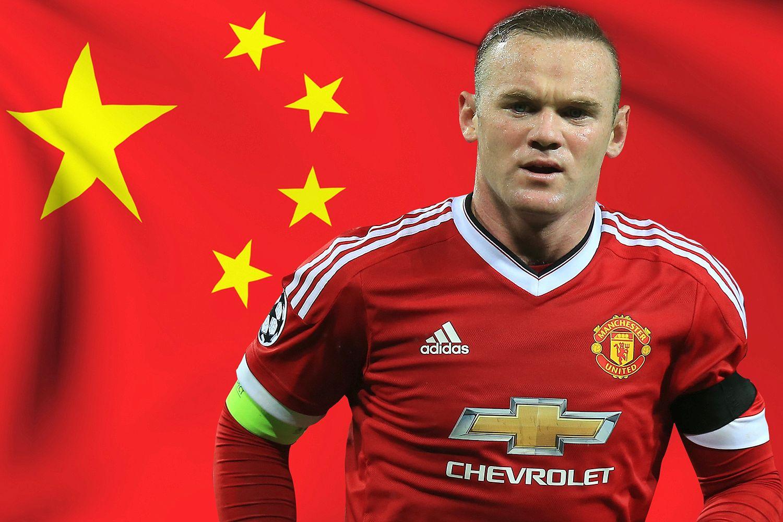واين روني في الدوري الصيني
