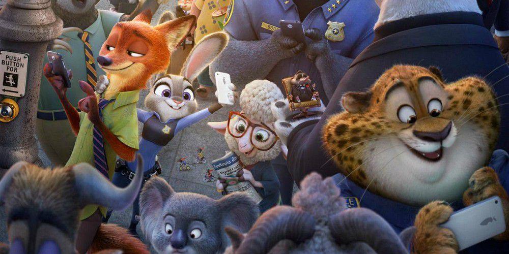 ما قصة فيلم الرسوم المتحركة زوتوبيا Zootopia المتصدر لشباك