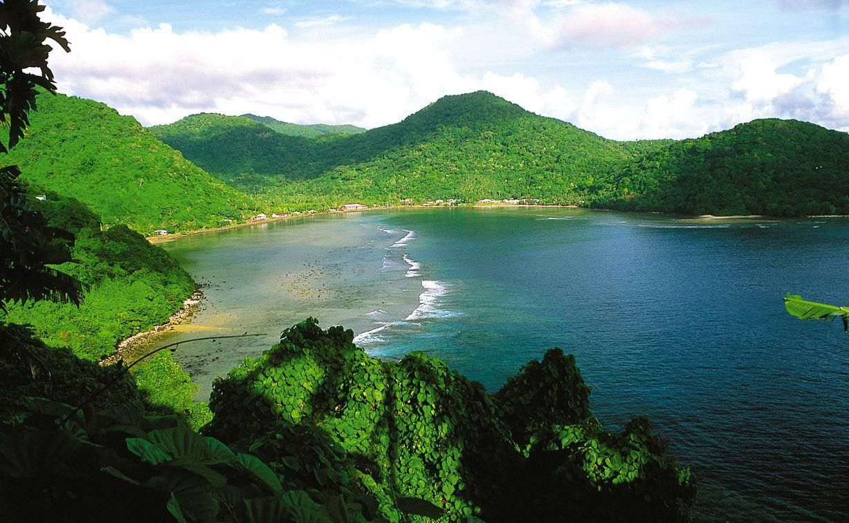 American Samoa is a vastly underrated tropical destination that will delight you with its magnificent mountain ridges