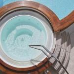 اجمل ديكورات الحمام الجاكوزي المنزلي