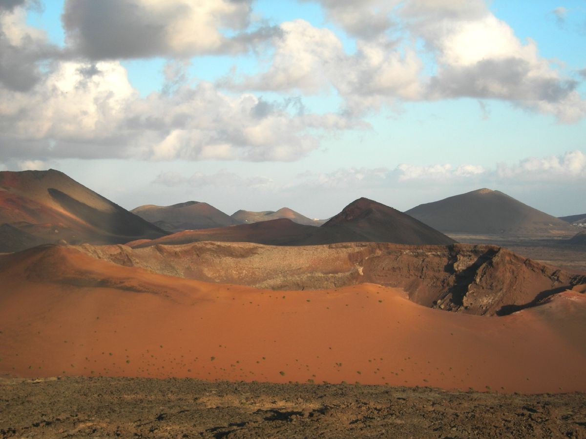 the volcanic origin of the islands