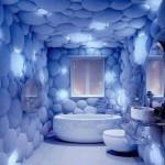 ديكور ورق الحائط في حمامات 2016
