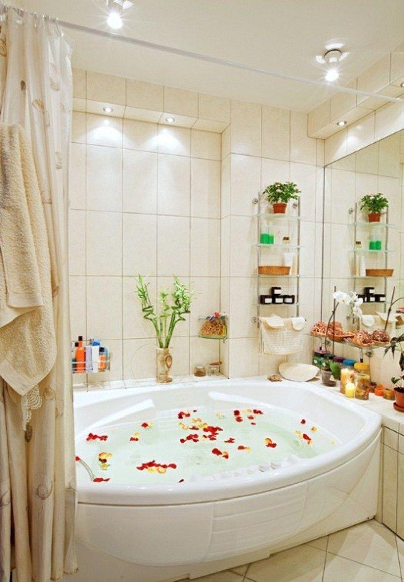 اجمل ديكورات الحمام الجاكوزي المنزلي | المرسال
