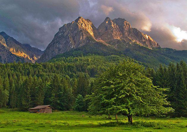 southeast of Garmisch