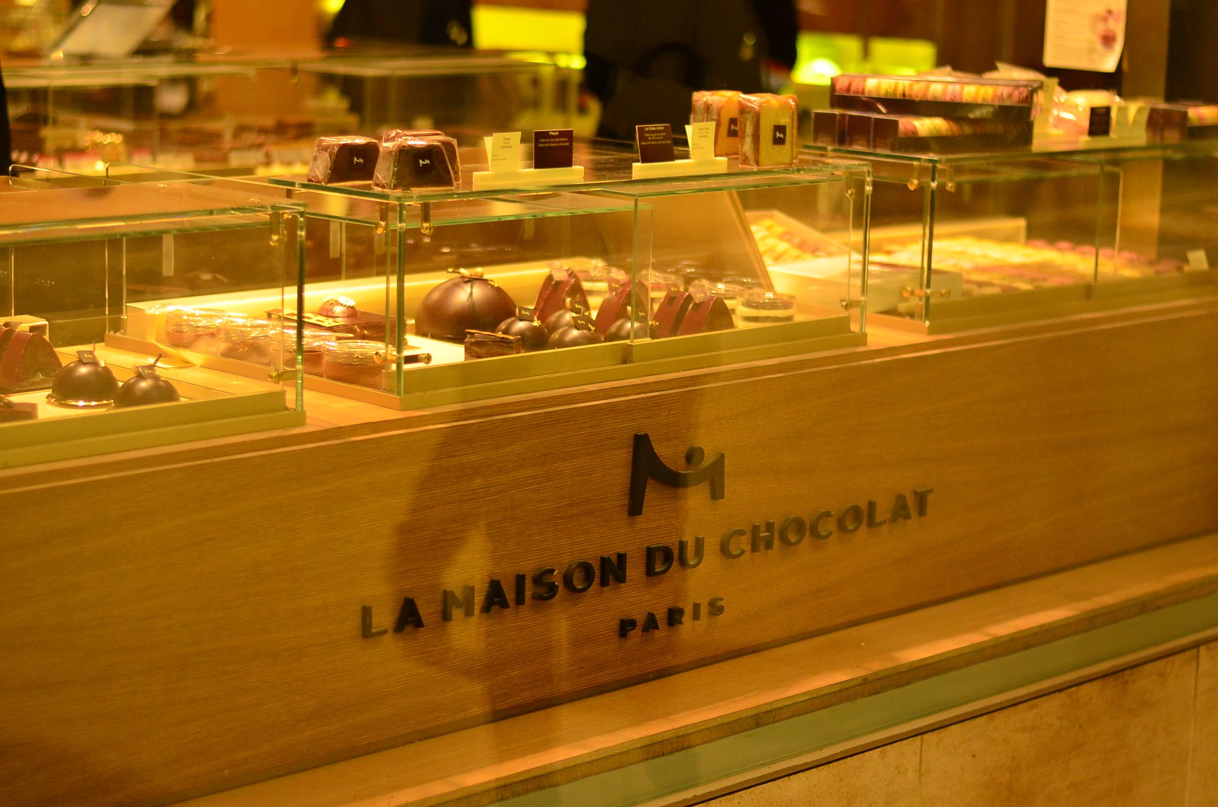 La maison du chocolat for Macarons la maison du chocolat