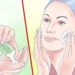 طريقة تبييض الوجه والرقبه