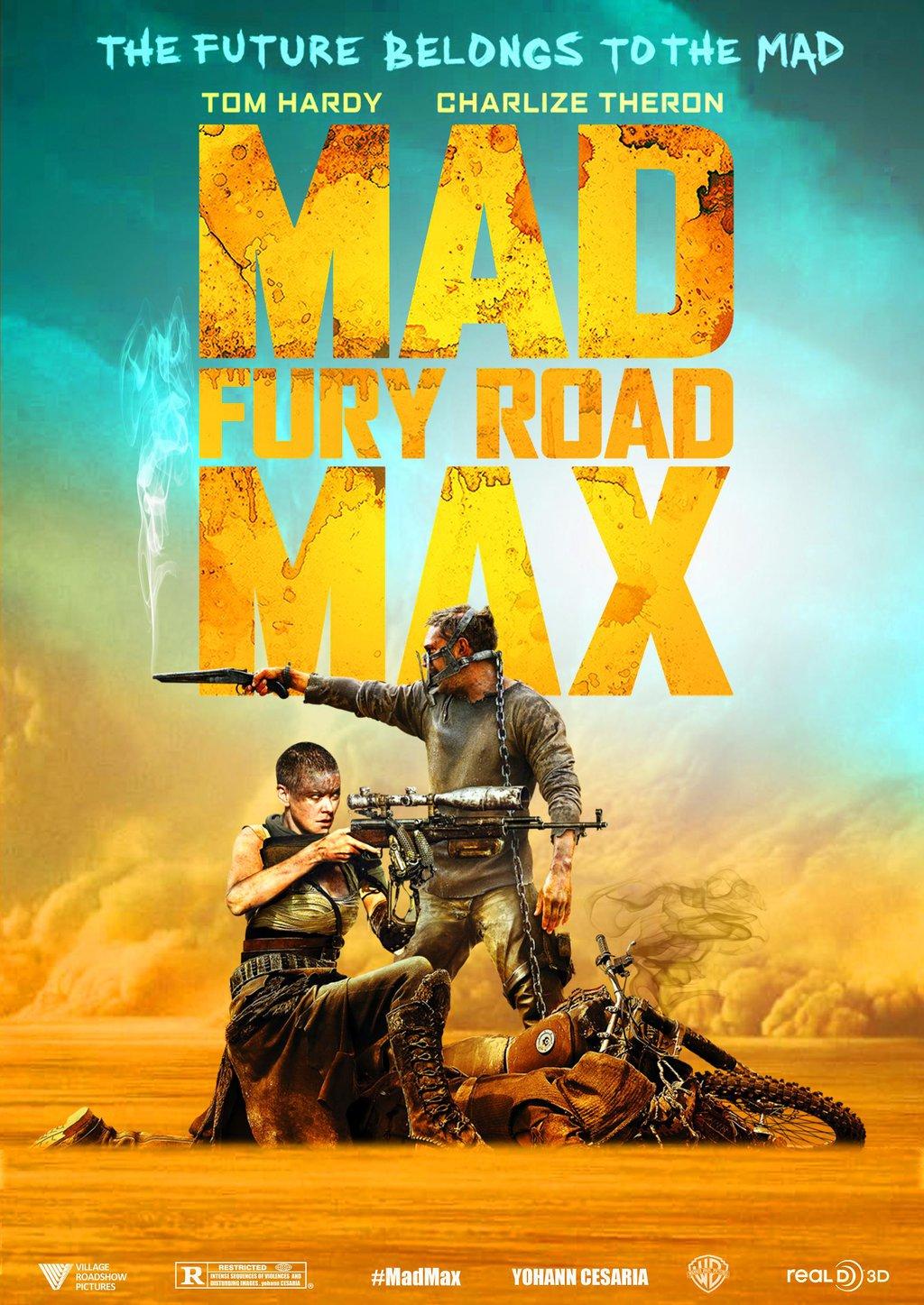 Mad Max Fury Road المرسال