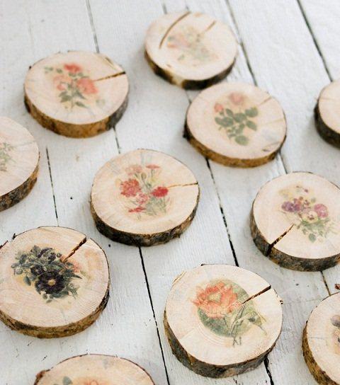 طريقة الطباعة على الخشب المرسال