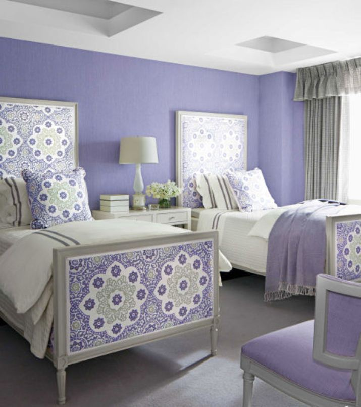 relaxing paint colors for a bedroom احدث دهانات حوائط غرف النوم المرسال 348