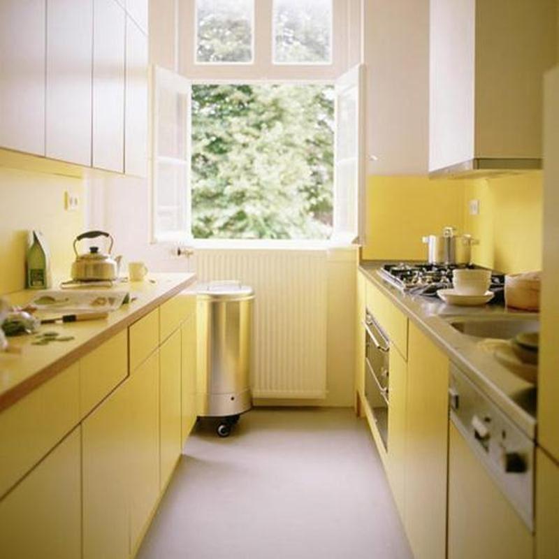 صور وافكار تصميم مطبخ Rectangle-design