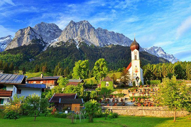 Southwest of Garmisch-Partenkirchen