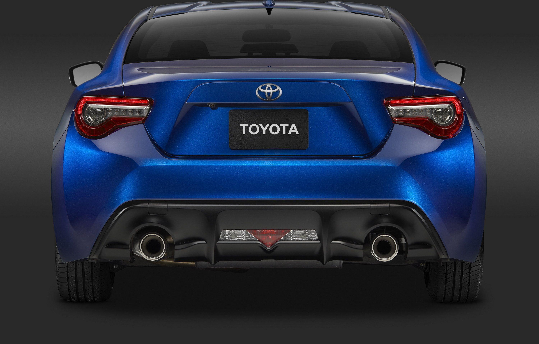 التصميم الخلفي للسيارة تويوتا 86 2017