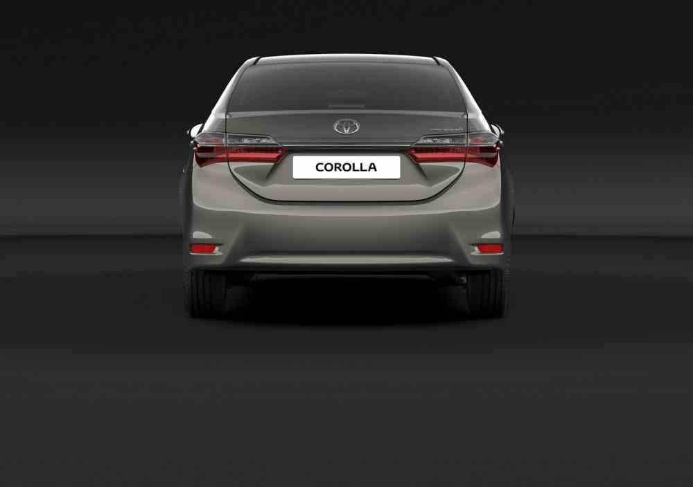 التصميم الخلفي للسيارة تويوتا كورولا 2017