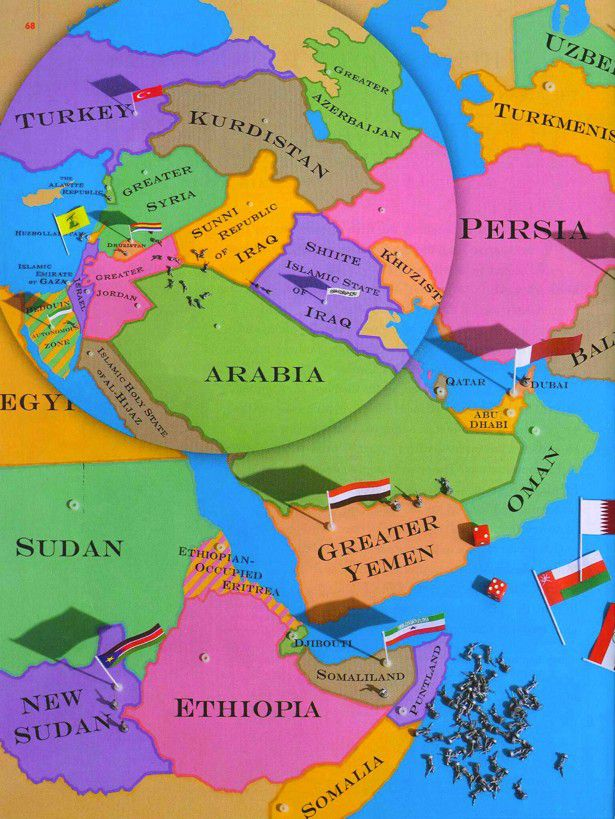 The New Map of the Middle East