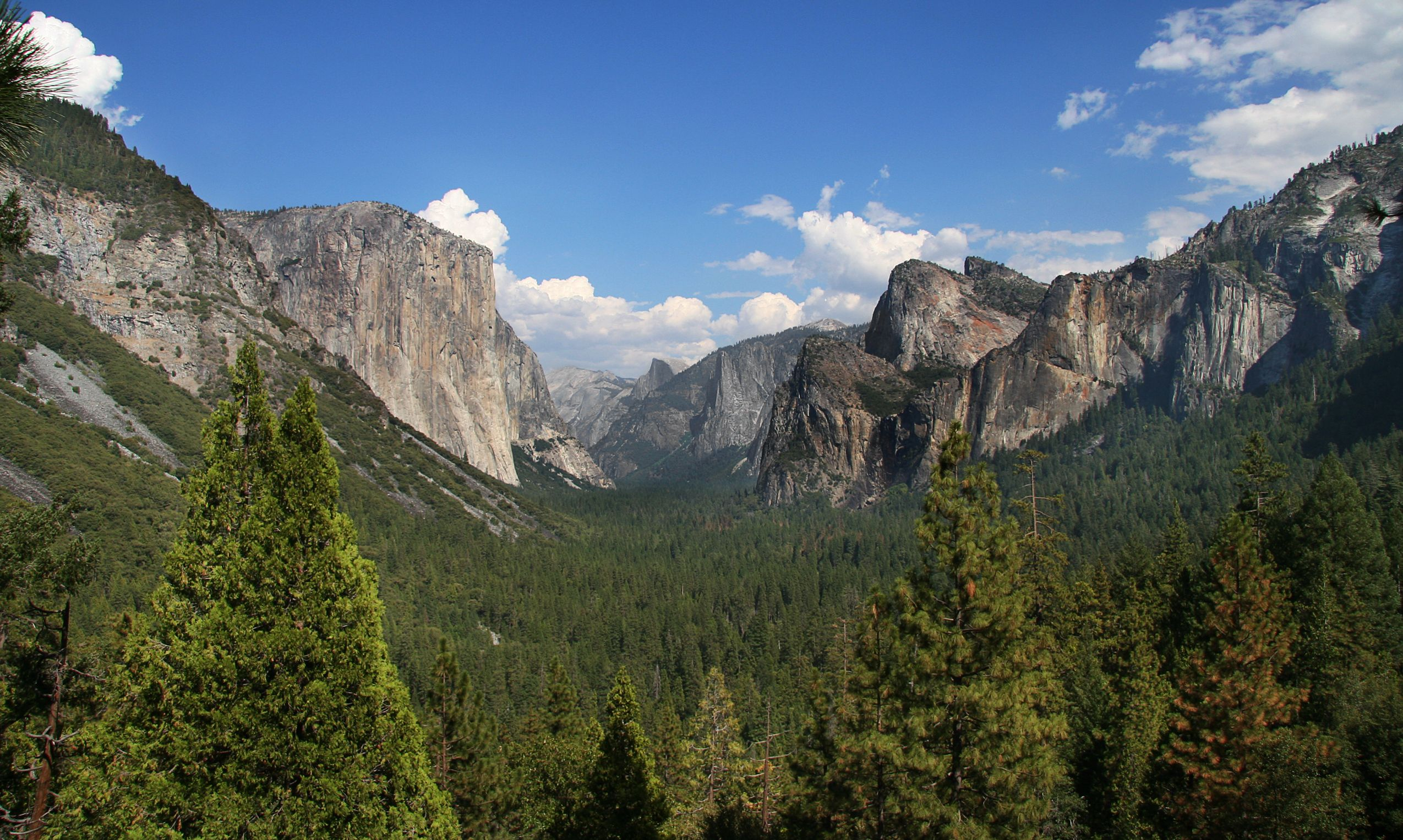 The geology of the Yosemite area