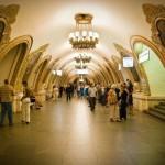 مترو موسكو بالصور . . أعجوبة تحت الأرض