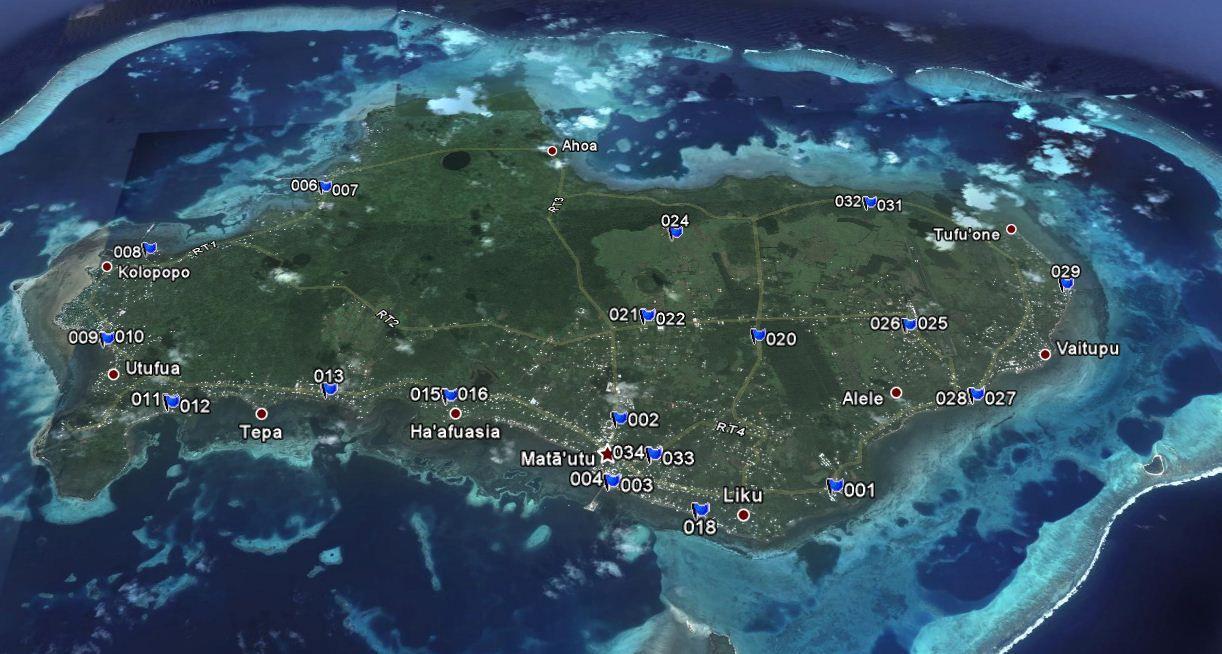 Hawaii to New Zealand