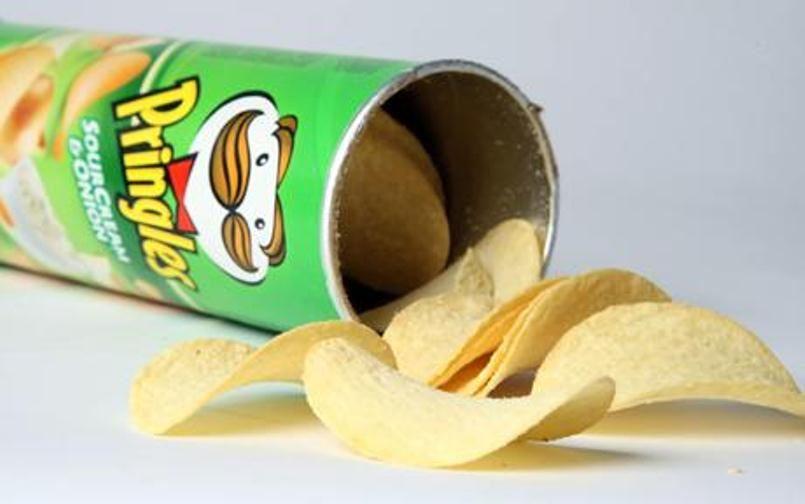 Как делают чипсы Pringles