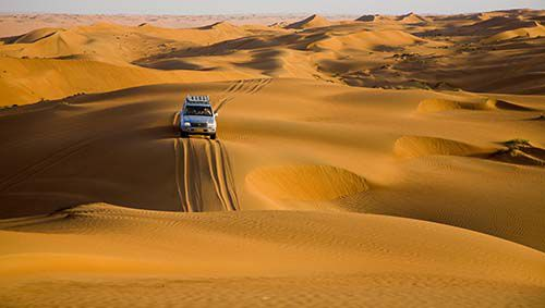 the Wahiba Sands are the quintessential image of Arabia for many visitors